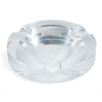 Crystal 3 Cigar Ashtray New