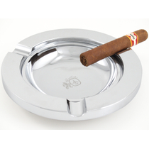 Colibri Gunmetal Round Three Cigar Ashtray