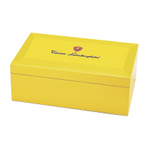 Lamborghini Limited Edition Yellow Monte Carlo Cigar Humidor
