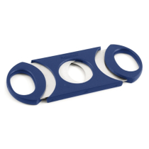 Metro 64 Ring Gauge Cigar Cutter Blue & Stainless Steel