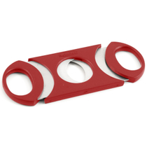 Metro 64 Ring Gauge Cigar Cutter Red & Stainless Steel
