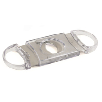 Clear Acrylic & Stainless Guillotine Cigar Cutter