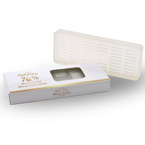 Rectangle Crystal Clear Gel Humidifier for 100 Cigars