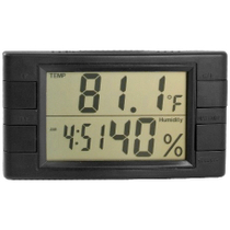 Large Display Digital Hygrometer with Thermometer & Clock