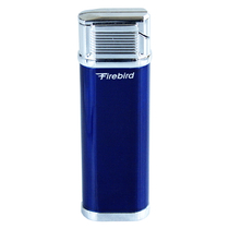 Colibri Blue Firebird Focus Clamshell Lighter