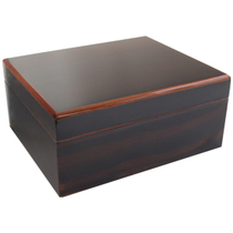 Savoy by Ashton Small Macassar Humidor, 25 Cigar Capacity