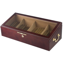 Display Cigar Humidor Cherry 100ct Cigars Humidors New