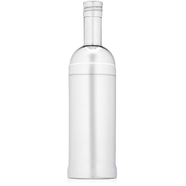 Gorham Thats Entertainment Stainless Steel Bottle Shaped Cocktail Shaker