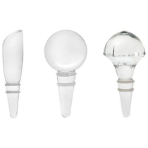 Lenox Tuscany Classics Crystal Wine Bottle Stopper, Set of 3