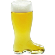 Stolzle Bierstiefel Half Liter Glass Beer Boot