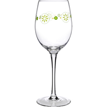 Luigi Bormioli Social Ave Molly Collection 12 Ounce White Wine Glass, Set of 4