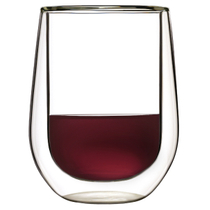 Luigi Bormioli Duos 14 Ounce Stemless Red Wine Red Wine Glass, Set of 2