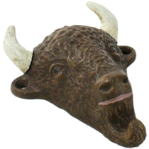 Homart Cast Iron Buffalo Bottle Opener