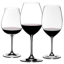 Riedel Sommeliers 3 Piece Leaded Crystal Red Wine Tasting Set