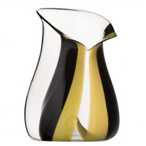 Riedel Black Tie Yellow Leaded Crystal Champagne Cooler