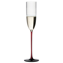 Riedel Sommeliers R-Black Series Leaded Crystal Champagne Flute
