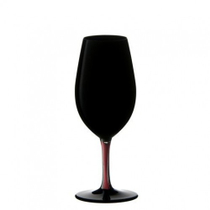 Riedel Sommeliers Black and Red Vintage Port Wine Glass, 8.75 Ounce
