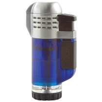 Xikar Tech Blue Triple Torch Butane Lighter