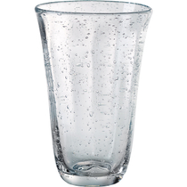 Artland Savannah Clear Bubble Glass Highball Tumbler, 18 Ounce
