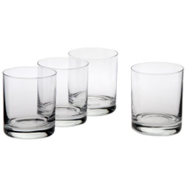Ravenscroft Classic Crystal Double Old Fashioned Glass, Set of 4