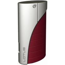 Lotus L18 Curve Torch Flame Lighter Red Matte
