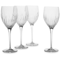 Luigi Bormioli Incanto 13.25 Ounce Red Wine Glass, Set of 4