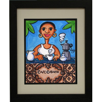 Cafe Cubano by Tony Mendoza Limited Edition Artwork