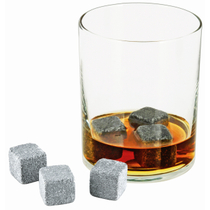 True Fabrications Glacier Rocks Soapstone Ice Cube, Set of 6