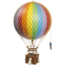 Authentic Models Royal Aero Balloons in Rainbow