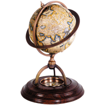 Authentic Models Terrestrial Classic Stand Globe with Compass