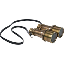Authentic Models Victorian Binoculars with Neck Strap