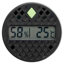 Xikar Round Digital Hygrometer and Thermometer