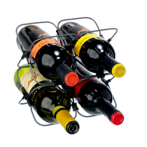 Houdini 4 Bottle Expandable Modular Wine Rack