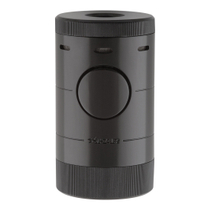 Xikar Volta Black Tabletop Quad Jet Flame Lighter