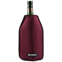 Le Creuset Burgundy Wine Bottle Cooler Sleeve