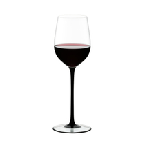 Riedel Sommeliers Black Tie Leaded Crystal Mature Bordeaux Wine Glass