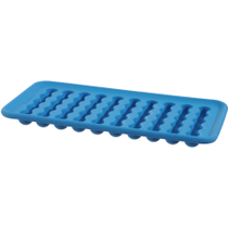 Casabella Blue Silicone Water Bottle Ice Tray, Set of 2