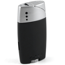 Xikar Genesis Black Single Torch Lighter