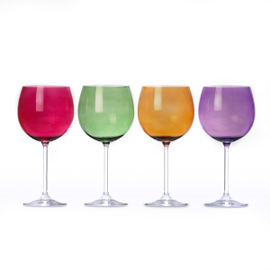Lenox Tuscany Harvest Assorted Crystal Balloon Wine Glass, Set Of 4