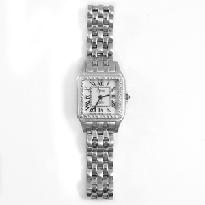 Colibri of London Swiss Diamond Silver Ladies Wrist Watch