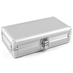 Craftsman's Bench Aluminum Cigar Travel Humidor 4 Count