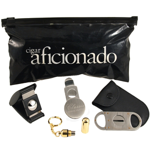 Cigar Aficionado Nibo Cigar Cutters & Punch Gift Set