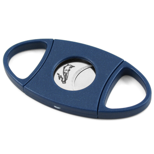 Xikar Meansardine Blue Double Guillotine Cigar Cutter