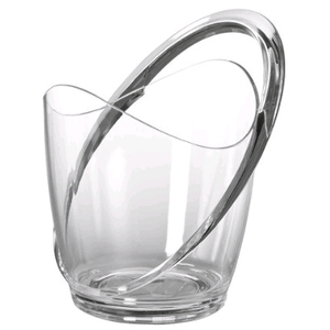 Prodyne Orbit Acrylic Wine Ice Bucket