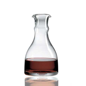 Ravenscroft Non-Leaded Crystal Barrel Decanter, 50 Ounce