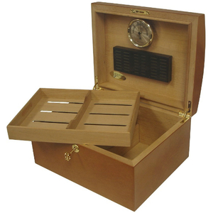 Don Salvatore Oak Treasure Chest Cigar Humidor
