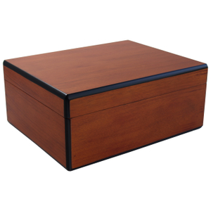 Savoy by Ashton Medium Humidor in Pearwood, 50 Cigar Capacity