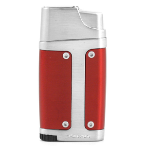 Xikar Element Double Torch Lighter with Punch in Red