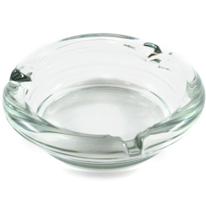 Anchor Hocking Round Glass Snuffer Cigarette Ashtray
