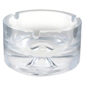 Denizli Hand Blown Crystal 3 Cigarette Ashtray